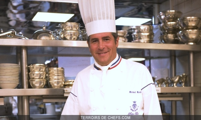 Grands Chef cuisinier du Ritz Paris : Michel Roth